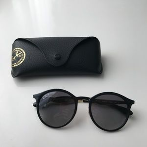 22262689f9 ireland ray ban emma sunglasses polarized cff03 ef0e2  switzerland ray ban  accessories ray ban emma polarized 100 authentic black gold 8b5c6 6f8f6